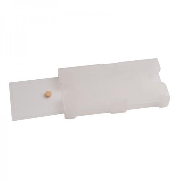 Schabenfalle-Feuchtraum grau/transparent