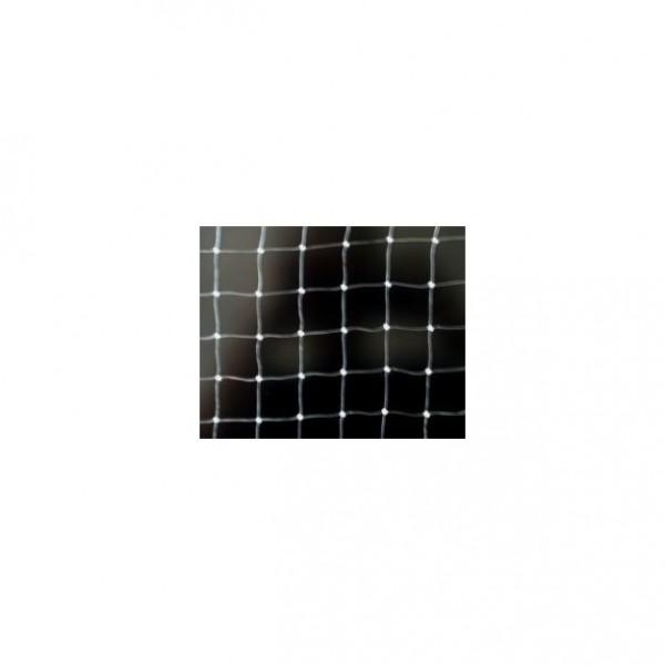 Netz Nylon monofil, Transparent, 20x20 mm Masche, Stärke 0,4 mm