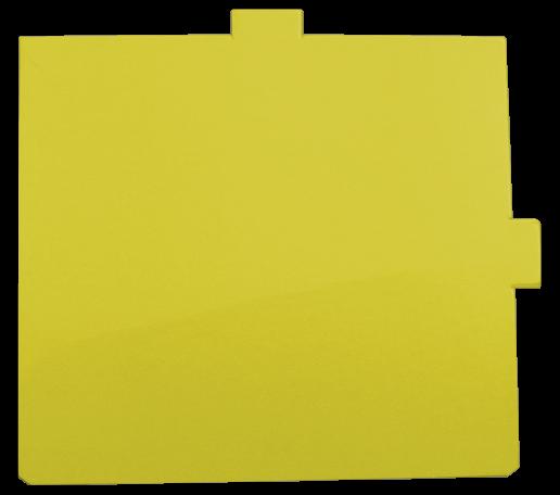 Ersatzklebefolie gelb für Fly Shield 1 - Coffee + Lunch