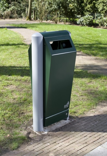 Müllbehälter 70 l mit integr. Rattenstation u. Wespenfalle