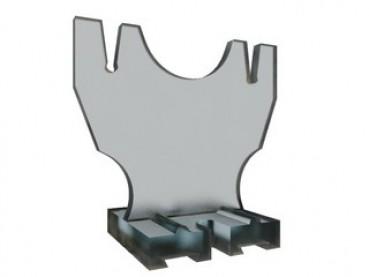Kunststoffhöcker aus UV-beständigen Polykarbonat